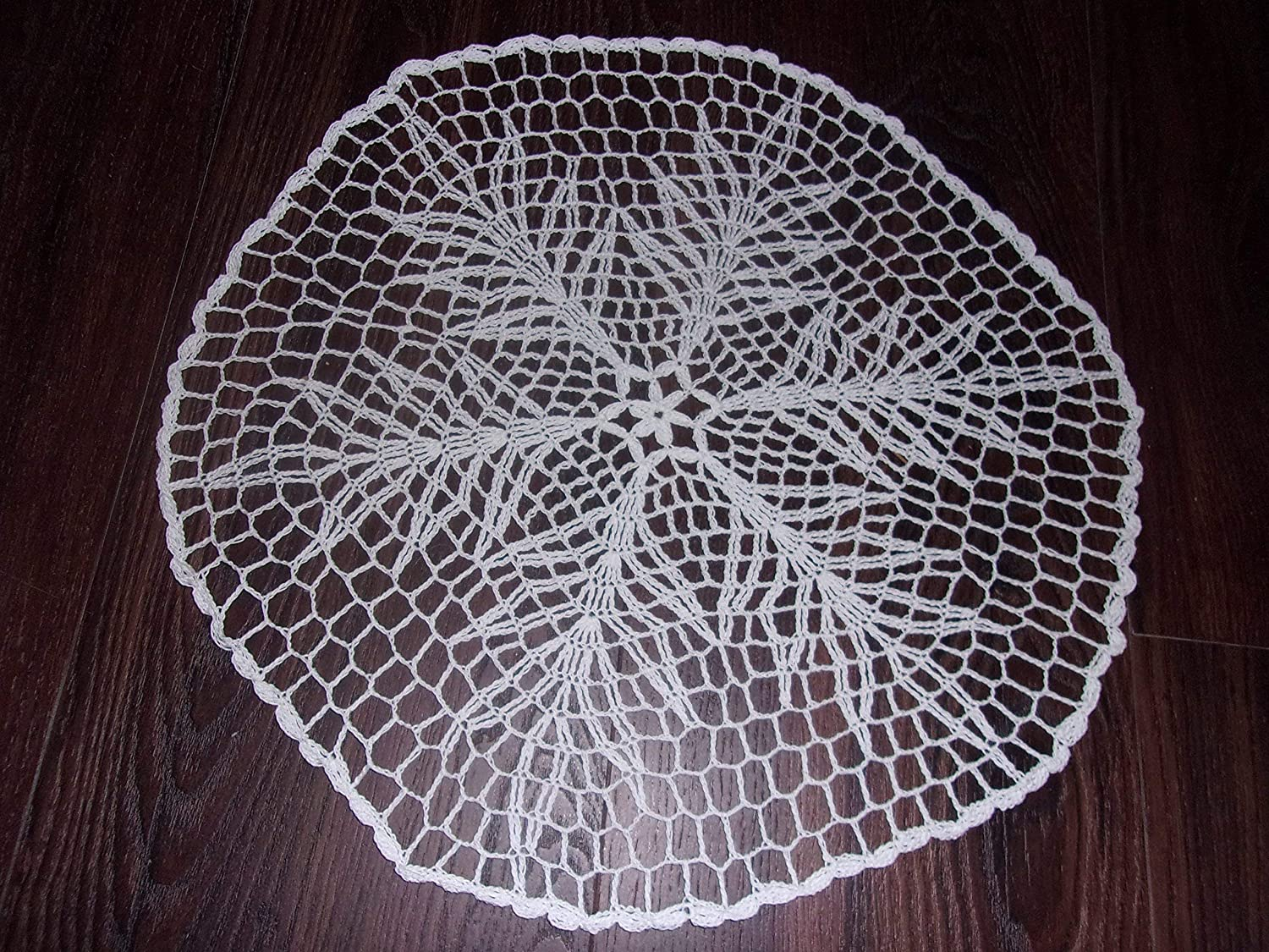Amazon Snowflake Doily Handmade Lace Table Covering Holiday