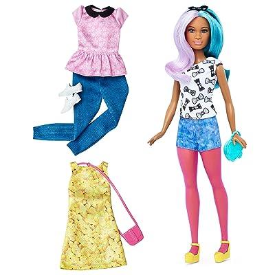 Barbie Fashionistas Doll & Fashions Blue Violet, Petite: Toys & Games [5Bkhe1205260]