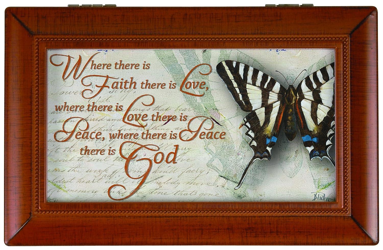 格安SALEスタート! Carson Home Accents Box Faith, Love Faith, & Peace Music Peace Box B016WEHVU4, ちまき屋 愛敬 本店:74d54b71 --- arcego.dominiotemporario.com
