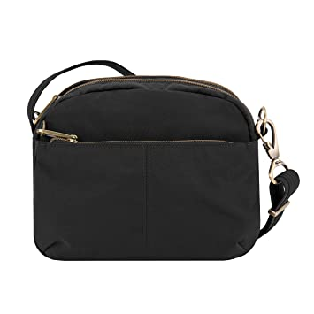 f92e03140d Amazon.com  Travelon Anti-theft Signature E W Shoulder Bag