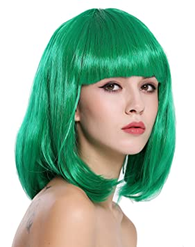 WIG ME UP ® - 0073-3-PC18 Peluca Mujer Carnaval Halloween Disco Party