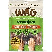 Kangaroo Tendons 200g, Grain Free Hypoallergenic Natural Australian Made Dog Treat Chew, Perfect for Training