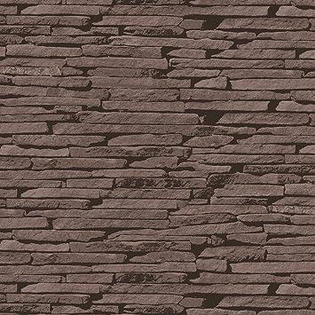 birwall 6012 Faux rustikalen Stein Stein Tapete Wand Papier für ...