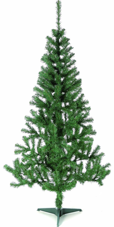 Festive Productions Ltd - Albero di Natale artificiale, 2,10 m, colore: Verde 259441 natalizio natalizia natalizie