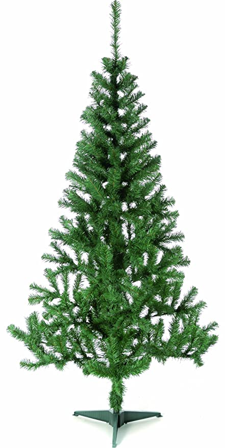 Plastic Christmas Tree.Festive Productions Green Lapland Fir Artificial Christmas Tree 2 1 M