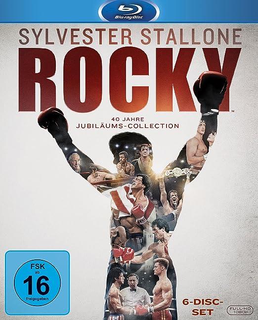 Rocky - DVD Box - Blu Ray