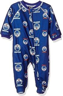 8655f6419dcb Amazon.com   MLB Newborn Boys Team Printed Sleepwear Coveralls ...