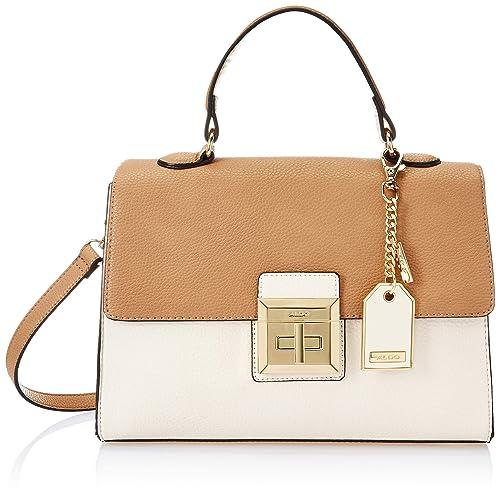 c1338f8765f ALDO Women s Satchel (Brown Miscellaneous)  Amazon.in  Shoes   Handbags