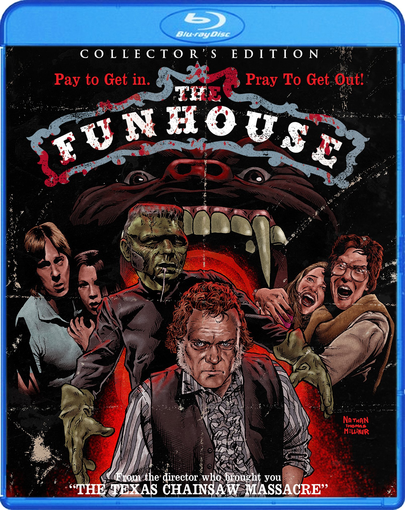 Blu-ray : The Funhouse (Collector's Edition) (Blu-ray)