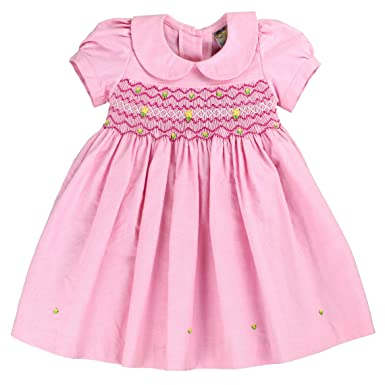 Amazon Com Sissymini Mia Natalia Infant Toddler Hand Smocked