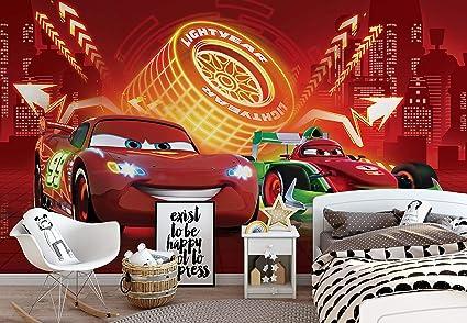 Disney Cars Lightning Mcqueen Bernoulli Photo Wallpaper Wall