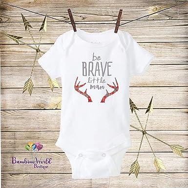 Amazon.com: Be Brave Onesie Arrow Onesie - Traje para bebé ...