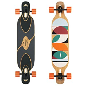Loaded Boards Dervish Sama Bamboo Longboard Complete