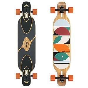 Loaded Boards Dervish Sama Bamboo Longboard Complete