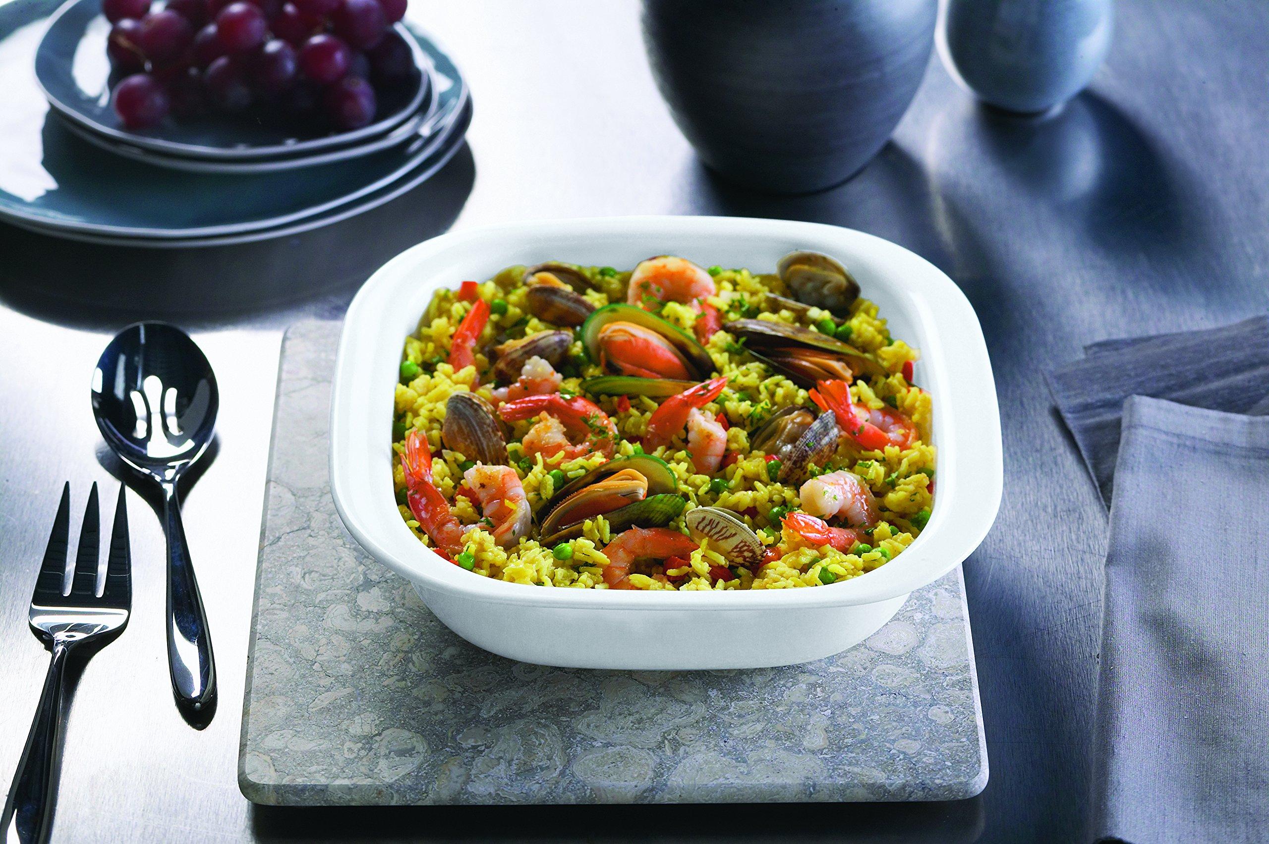 CorningWare SimplyLite 3-Quart Oblong Baking Dish with Plastic Lid by CorningWare (Image #3)