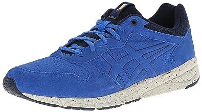 buy popular e03e7 43edd Onitsuka Tiger Shaw Runner Classic Running Shoe, Strong Blue Strong Blue, 4  M