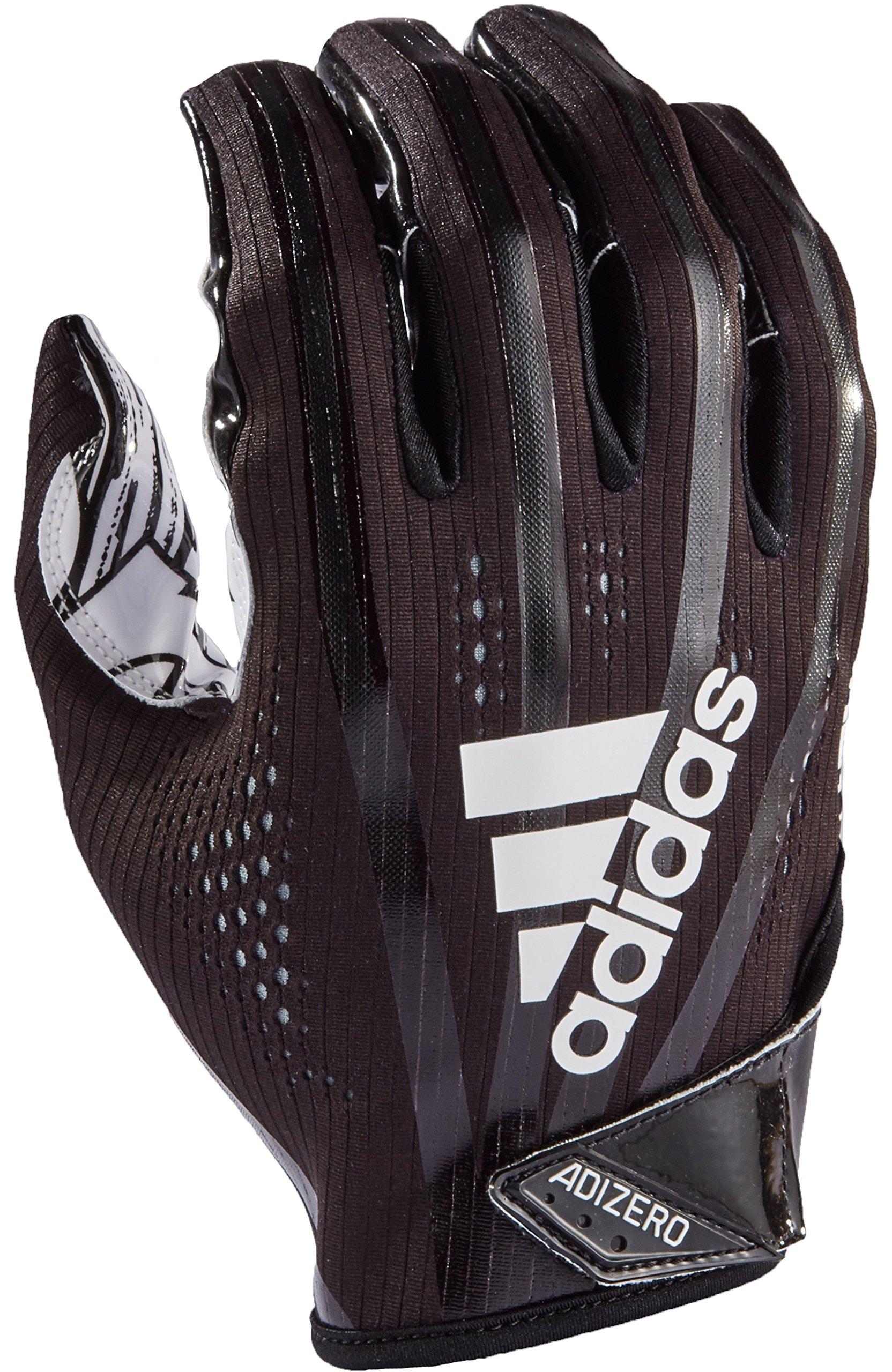 adidas AF1000 Adizero 7.0 Receiver's Gloves, Black, XX-Large by adidas (Image #1)