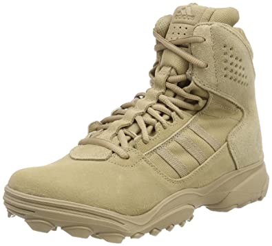 a22d232a5595 Image Unavailable. Image not available for. Color  adidas GSG-9.3 Mens  Tactical Military Outdoor Shoe Boot Hemp ...