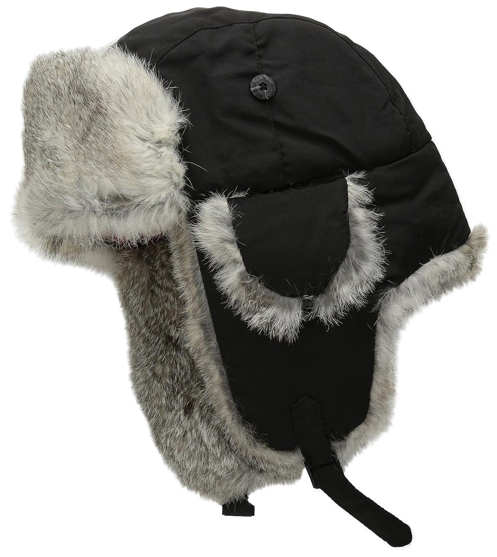 Woolrich HAT メンズ B005EP1X2A Small|ブラック ブラック Small