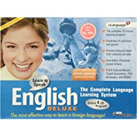 Learn to Speak English Deluxe E-language- CD-ROM