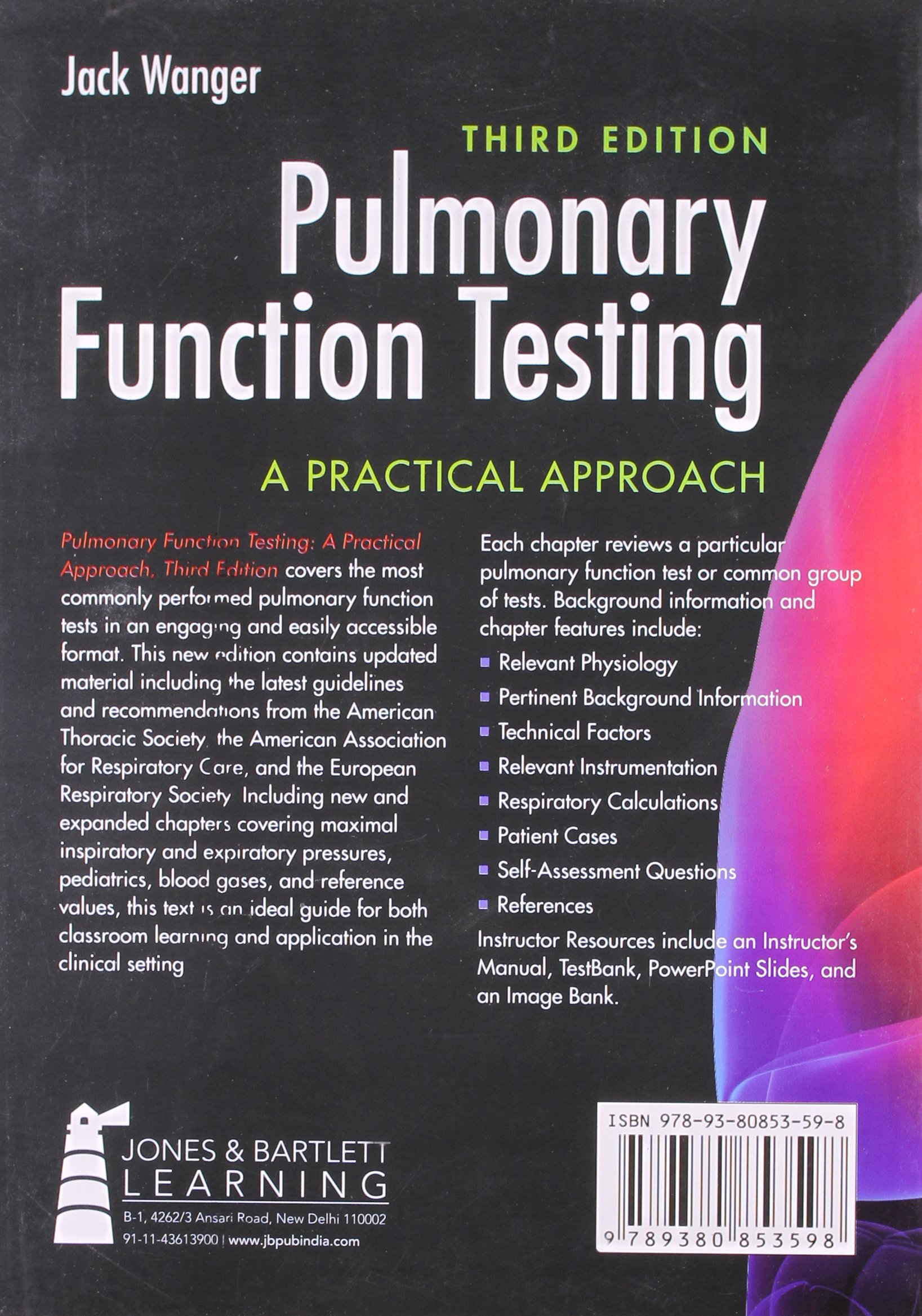 Pulmonary Function Testing: A Practical Approach, 3rd/e: Jack Wanger:  9789380853598: Amazon.com: Books