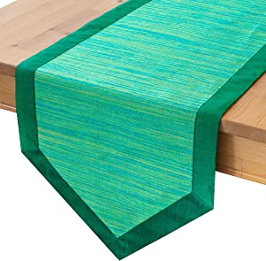 Green Dresser Scarf Table Runners (14×36 inch
