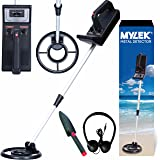 MYLEK® Lightweight Metal Detector Kit – Detects all Gold, Silver, Ferrous and Non-ferrous Metals