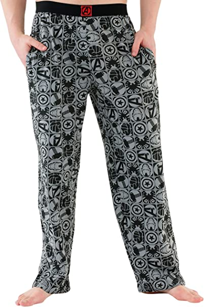 The Avengers Marvel Avengers - Pantalones del pijama para Hombre