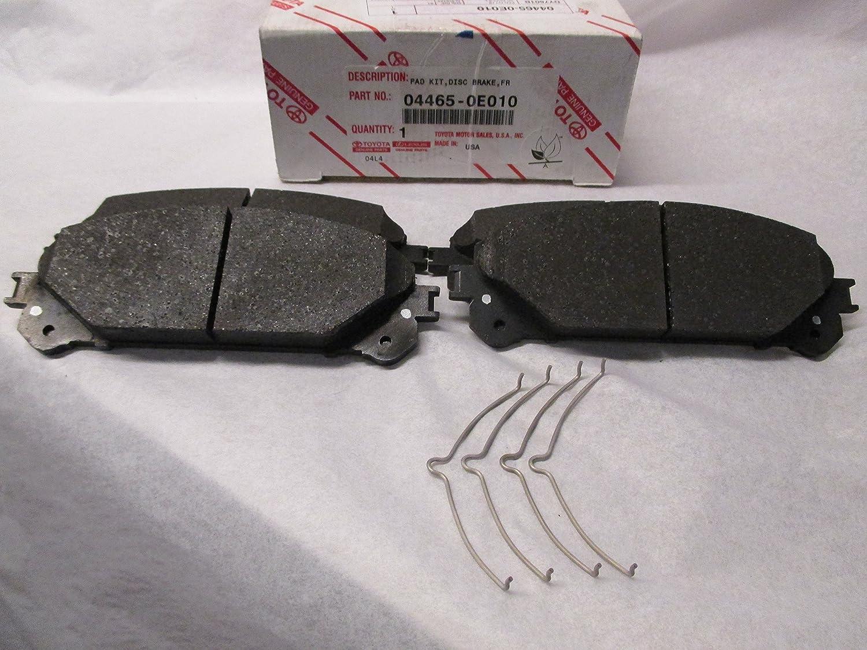 Brake Pad Kit 04465-0E010 Genuine Toyota