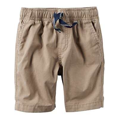 Baby Boy Carter's Transitional Pull-On Shorts, Size: 12 Months, Khaki