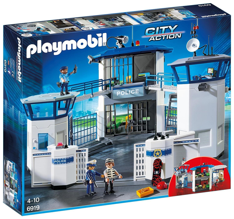 más vendido Jugarmobil Comisaría de de de Policía con Prisión 6919  comprar barato