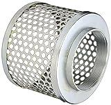 PT Coupling Carbon Steel Round Hole Pump Suction