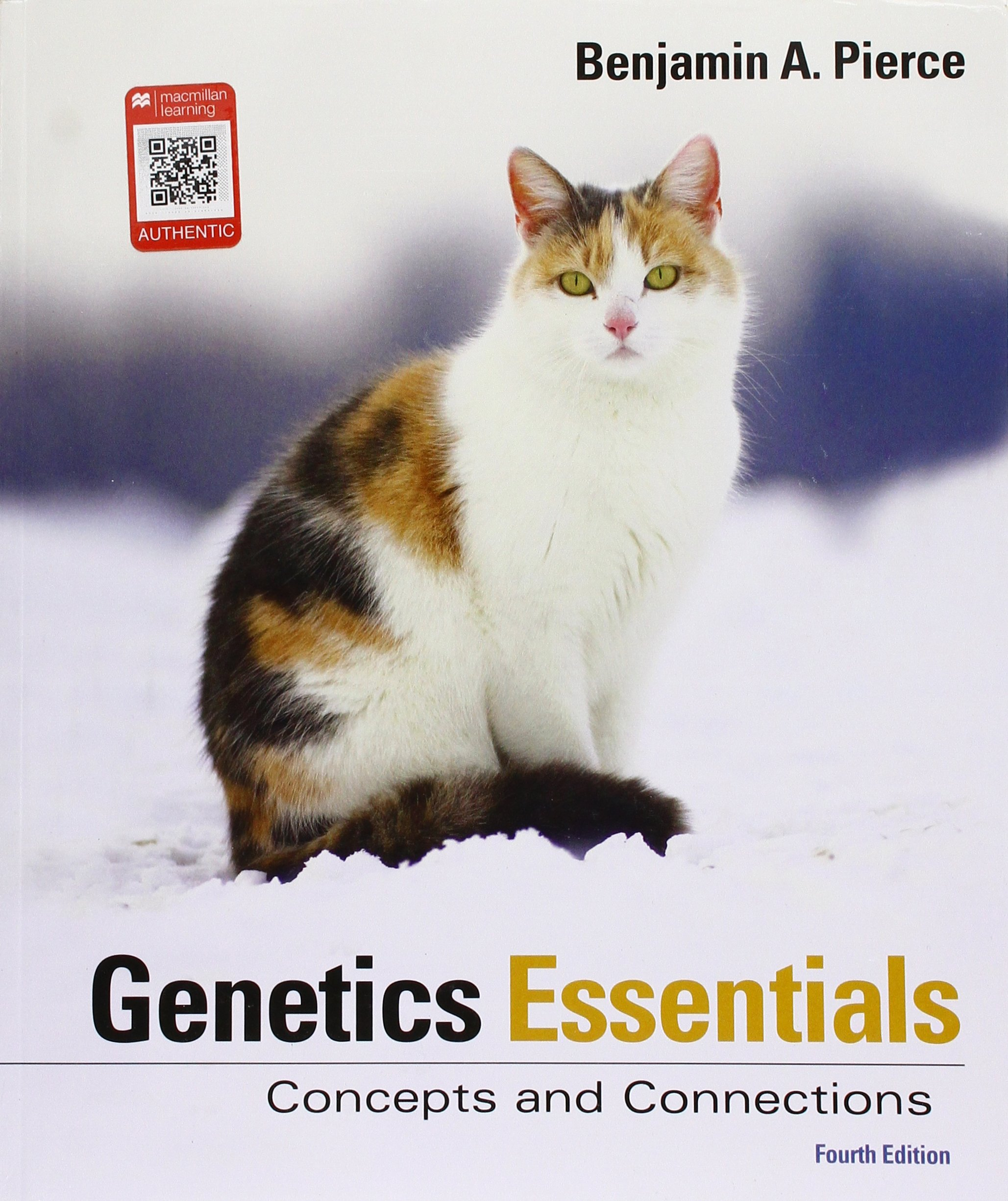 Genetics Essentials: Concepts and Connections: University Benjamin A  Pierce: 9781319107222: Genetics: Amazon Canada