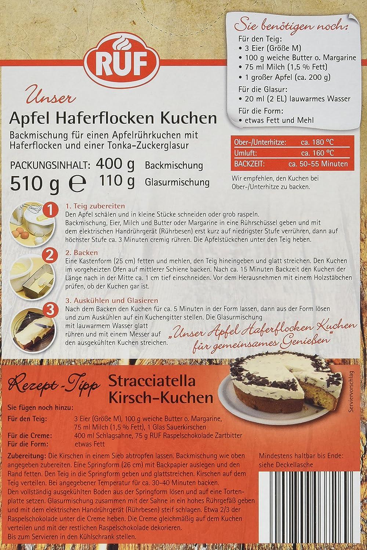 Ruf Apfel Haferflocken Kuchen 4er Pack 4 X 510 G Amazon De