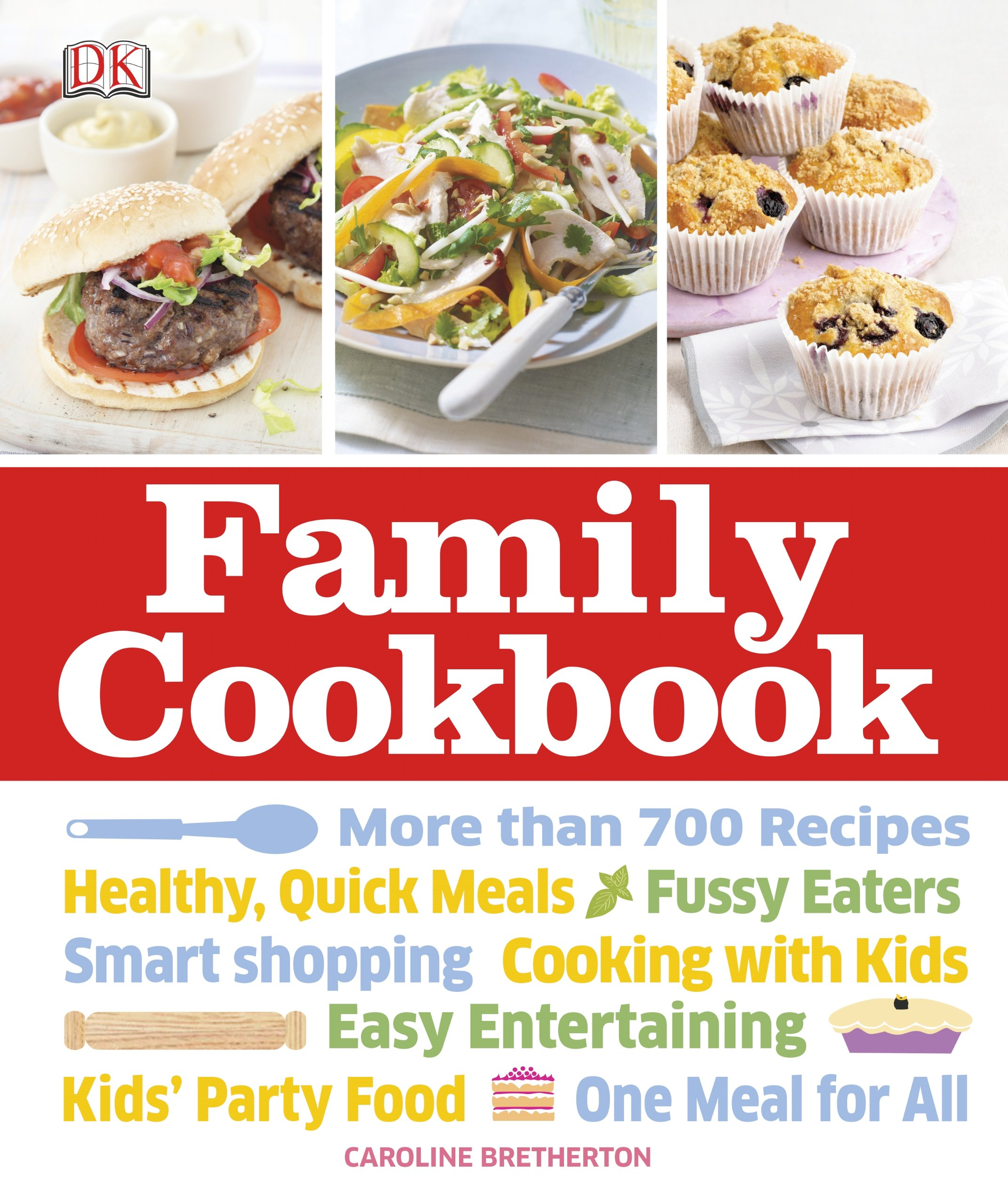 Family cookbook caroline bretherton 9781465408464 amazon books forumfinder Choice Image
