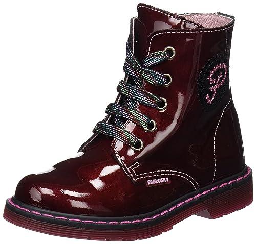Pablosky 448669, Botines para Niñas, (Rojo), 38 EU: Amazon.es: Zapatos y complementos