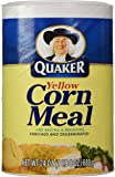 Quaker Corn Meal, Yellow, 24 Oz