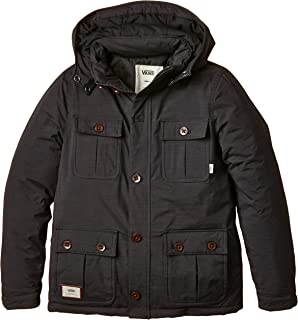 8b1f026c0c3 Vans Boy s B MIXTER II Boys Pirate Black Long Sleeve Raincoat