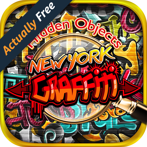 [Hidden Object New York Graffiti – Pic Puzzle Photo Differences Objects Seek & Find Game FREE] (Halloween Adventure New York)
