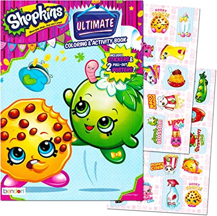 - Amazon.com: Shopkins Ultimate Coloring & Activity Book Includes Stickers &  2 Posters: Toys & Games