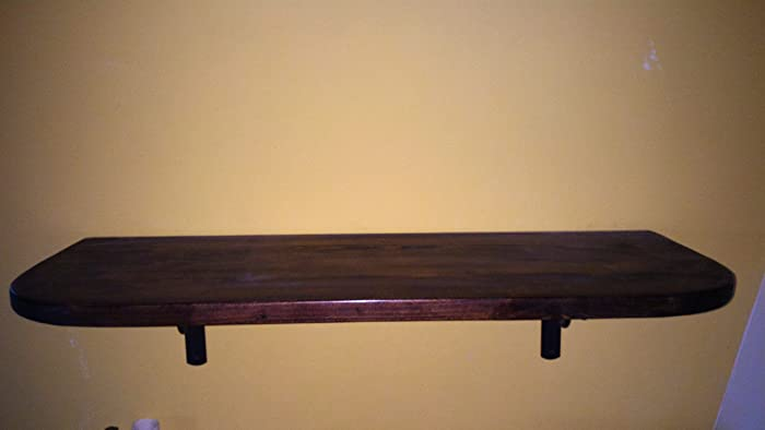 Mensole Arte Povera.Mensola Di Legno Massello In Arte Povera 80x30x28mm Amazon