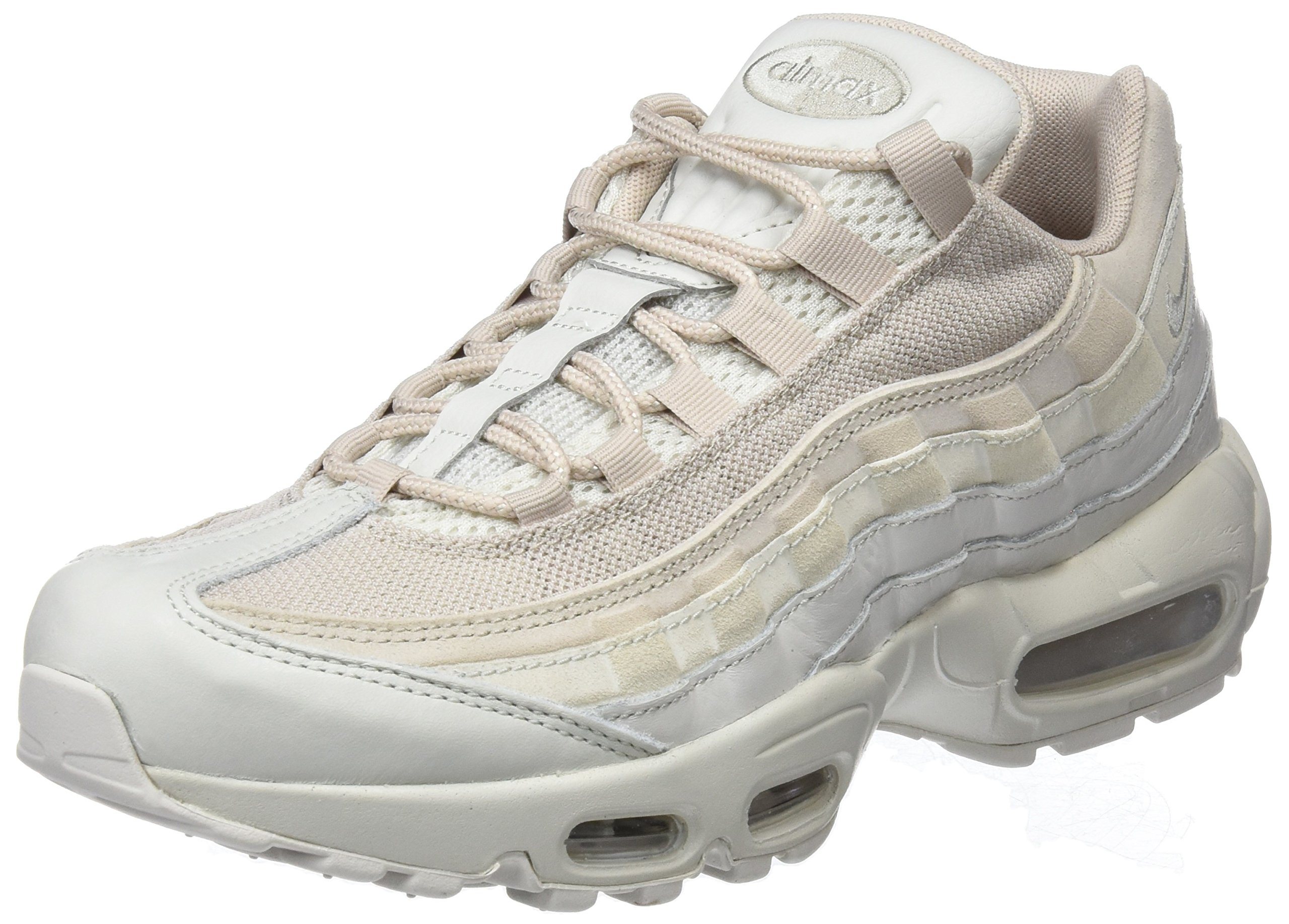 c804f6f08c185 Galleon - Nike Men's Air Max 95 Premium Running Shoe (8 D(M) US, Light  Bone/Light Bone-String)