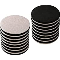 "16-Pack 3.5 in.Premium Heavy Furniture Movers for Wood Floor,Felt Furniture Slider in a Reusable Tube,3.5"" Heavy Duty Felt Furniture Sliders,Furniture Mover,Reusable Furniture Moving Pads-EZHOUSE"
