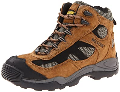 736d76c456a Wolverine Men's Work Athletic Mid Hiker Steel Toe Sd Olive Sand ...
