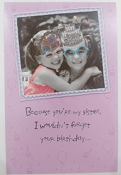 Amazoncom Funny Humor Happy Birthday Sister Greeting Card You