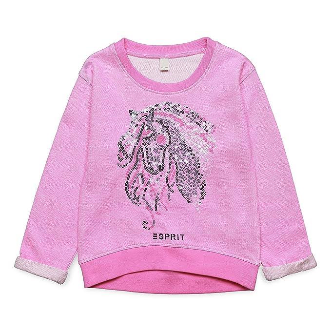 Esprit Kids rj15093 - Sudadera para niña, Color Rosa (Marshmallow 346), 92 : Amazon.es: Ropa y accesorios