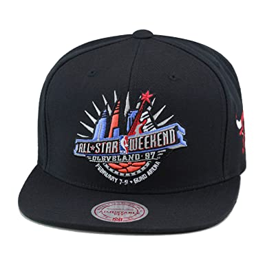 White NBA All Star Weekend Mitchell /& Ness Snapback Hat Cap