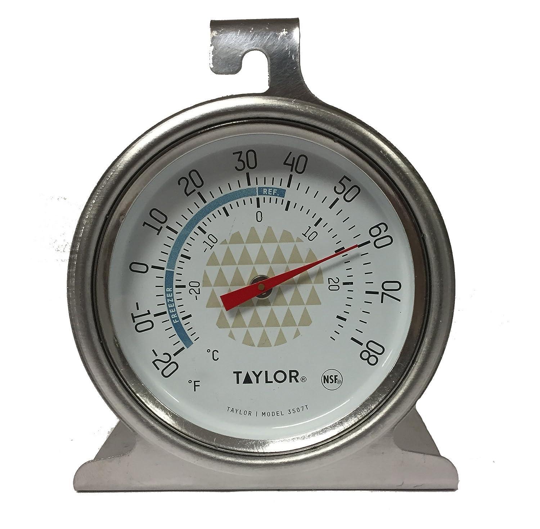 Classic Tru Temp Refrigerator-Freezer Thermometer - Blue Taylor