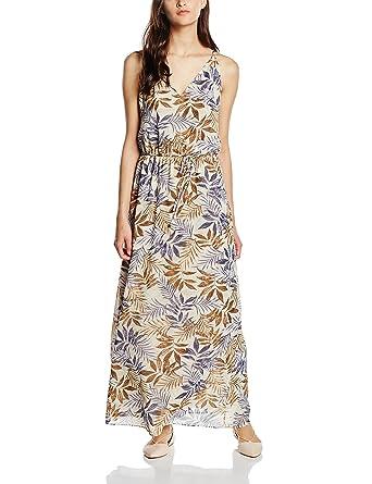 6d0c8edbe2a4 ESPRIT Collection Damen Kleid 056EO1E018-Regular Fit, Weiß (Off White 110),