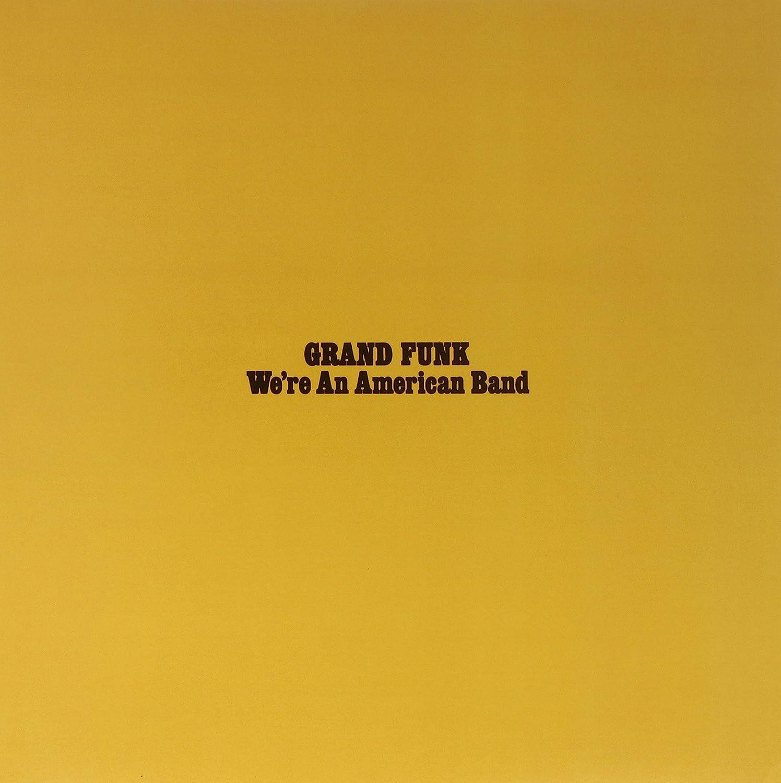 We're An American Band Gold Japan Maker Bombing new work New 180 Gram Vinyl